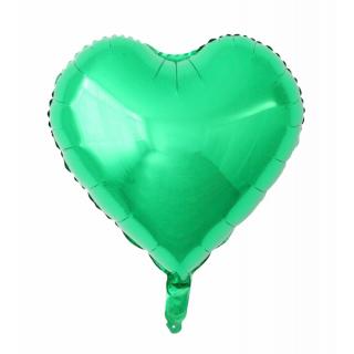 Grønn Hjerteballong