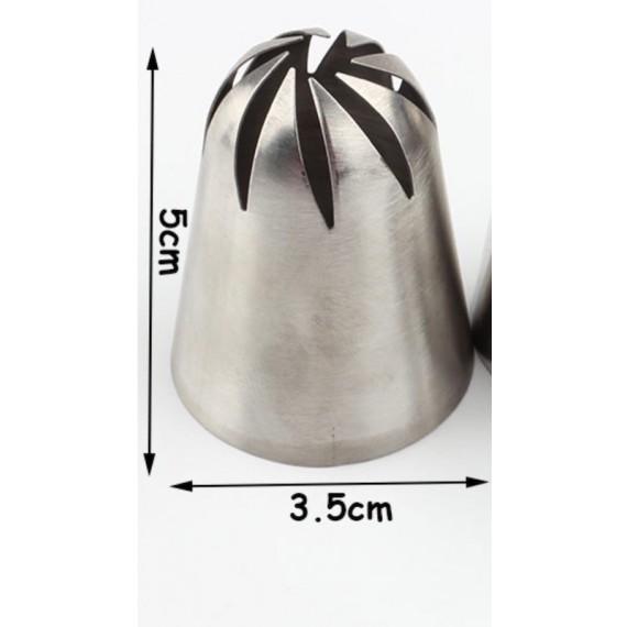 Dekorasjonsprøyte trippelkobling