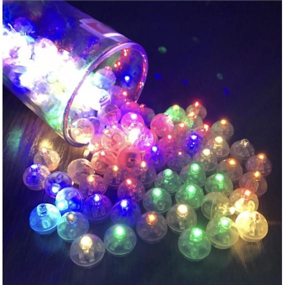 Fargerike LED ballong/dekorasjon lys