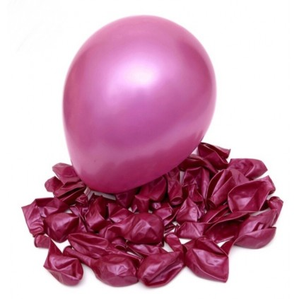Mørk rosa ballonger