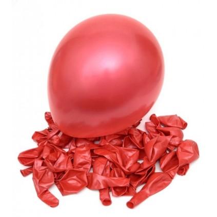Røde ballonger