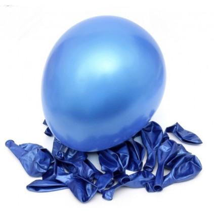 Kongeblå ballonger 50 stk