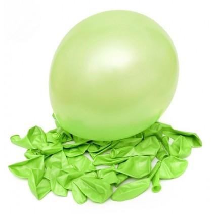 Lysegrønne ballonger
