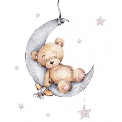 Sovende Teddybjørn